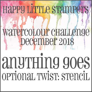 +++HLS December Watercolour Challenge