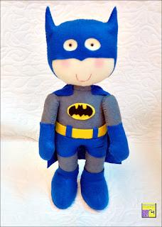 Batman,  boneco em feltro