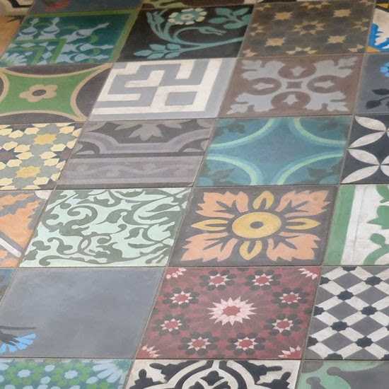 Bohemian Daily: Decorating With Tiles