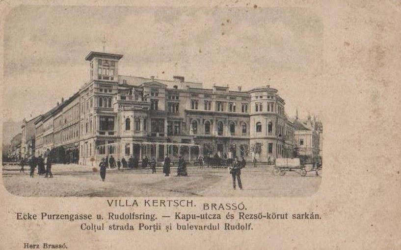 Vila Kertsch din Brasovul vechi