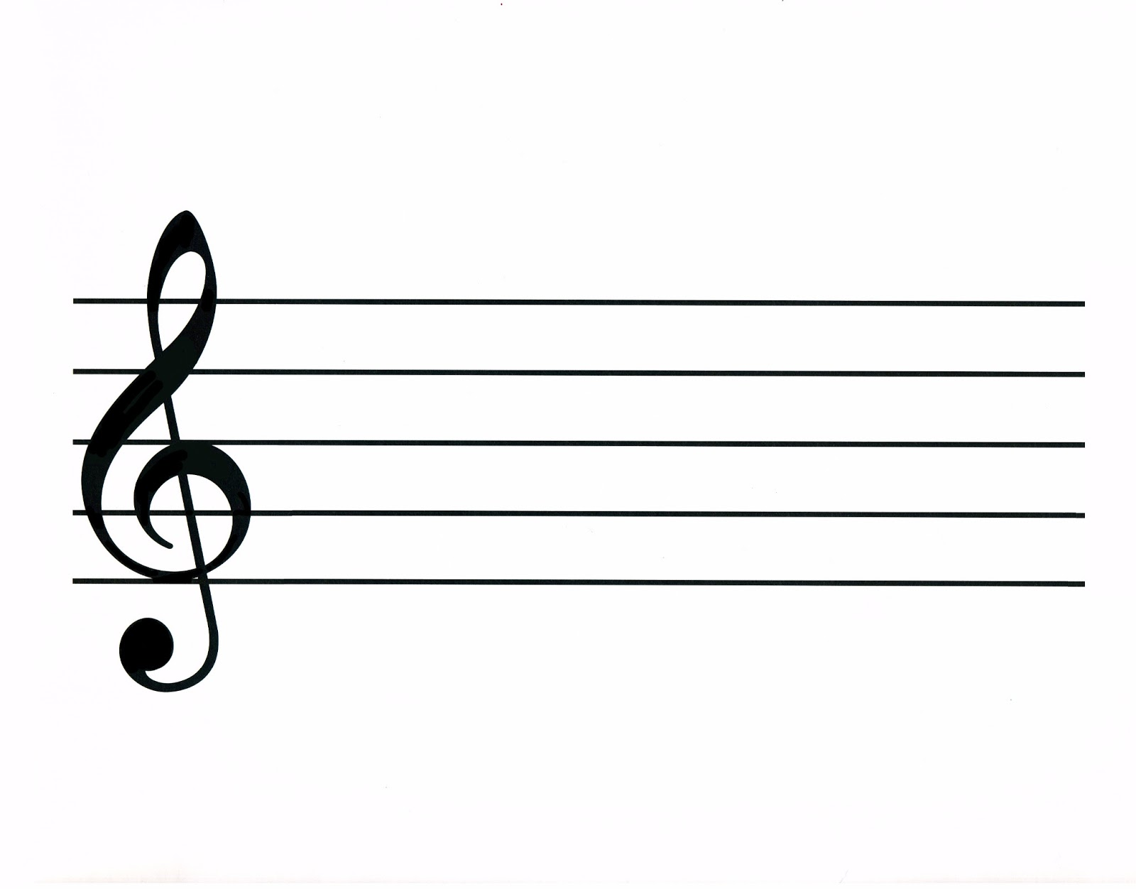blank bass clef sheet music