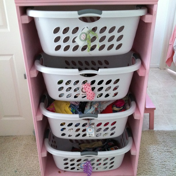 Laundry Basket Shelf
