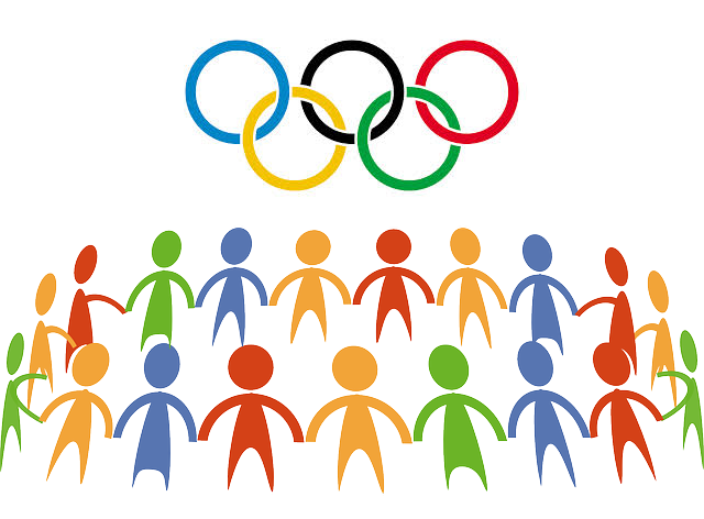 NAMC Montessori values olympic spirit rings holding hands