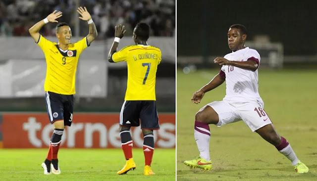 Colombia vs Qatar en vivo