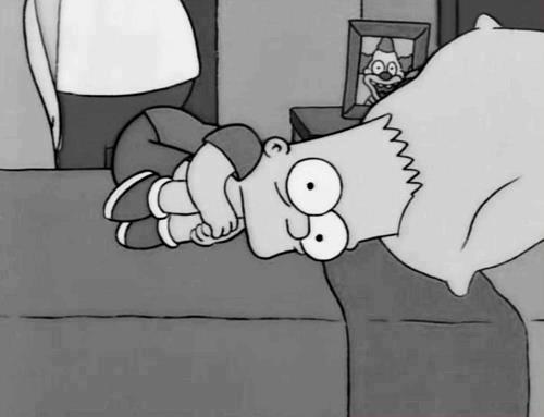 Bart Simpson Sad Quotes Quotesgram
