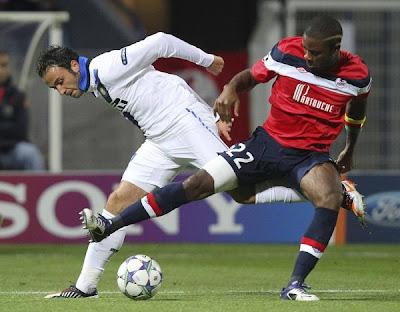 Lille 0 - 1 Internazionale Milan (1)