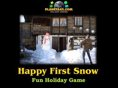Happy First Snow - Holiday Game