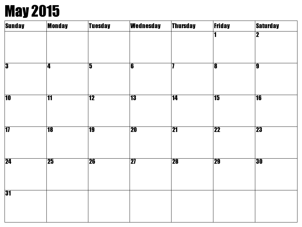 Monthly Calendar Without Year : Free printable calendar may