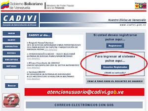 CADIVI: Comision de Amisión de Divisas