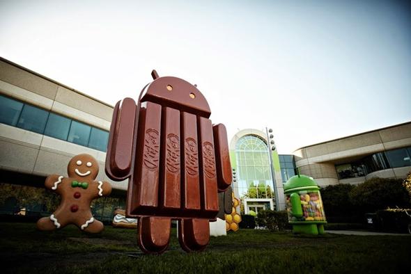 """Android'in Yeni Sürümünün İsmi """"KitKat"""" Olacak"""