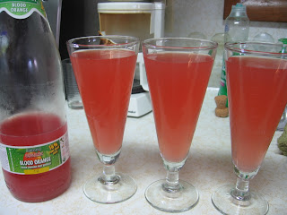 Blood-orange mimosa