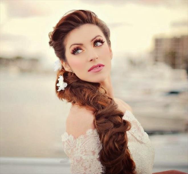cách bới tóc cô dâu đẹp, cách làm tóc cô dâu đẹp