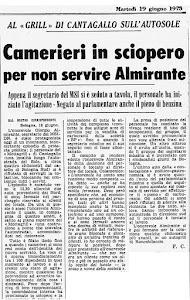 19 GIUGNO 1973