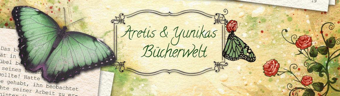 Aretis und Yunikas Bücherwelt