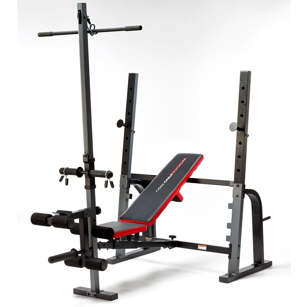 Pure fitness and sports weider pro 550 weight bench 145kg weight set Weight set and bench