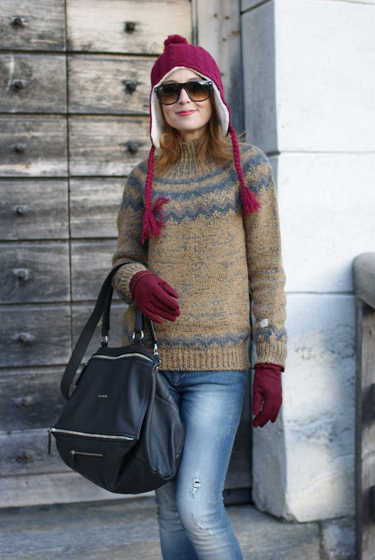 aniye by sweater, UGG boots, subdued hat, Fashion and Cookies
