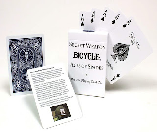 Top Deck Cards :  Bicycle Desert Shield Ace of Spades Playing Cards 808 Deck
