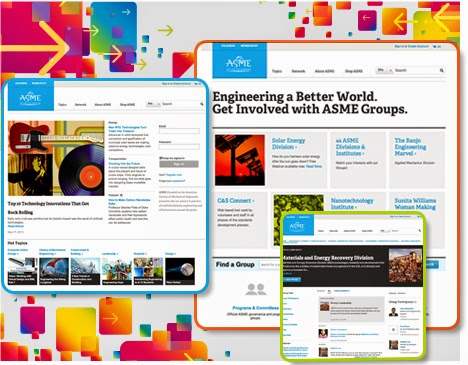New American Society of Mechanical Engineers social network