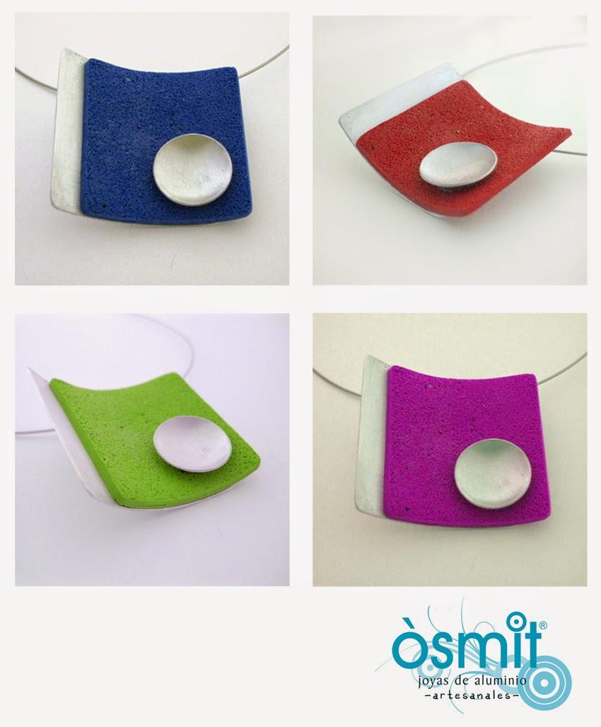 collar artesanal alumini osmit joies
