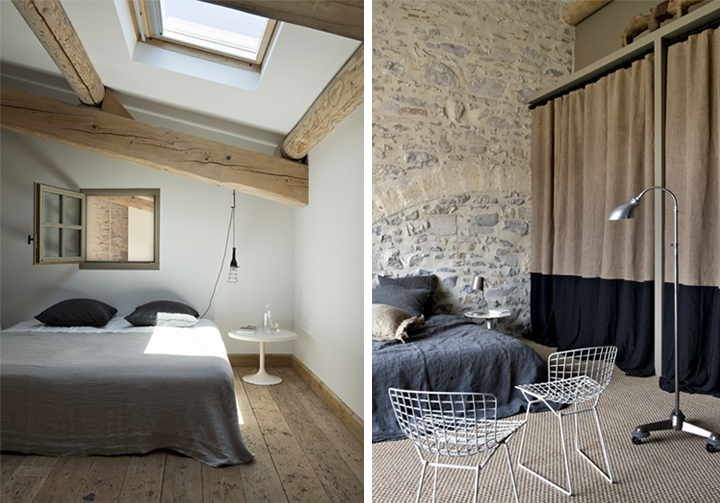 Cosy french home by marie laure helmkampf for Chambre in french