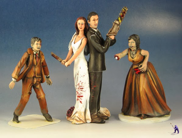 Doeblerghini Bunch:  Zombie Fighter Cake Topper