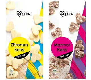 veganz Kekse - Zitrone & Kakao