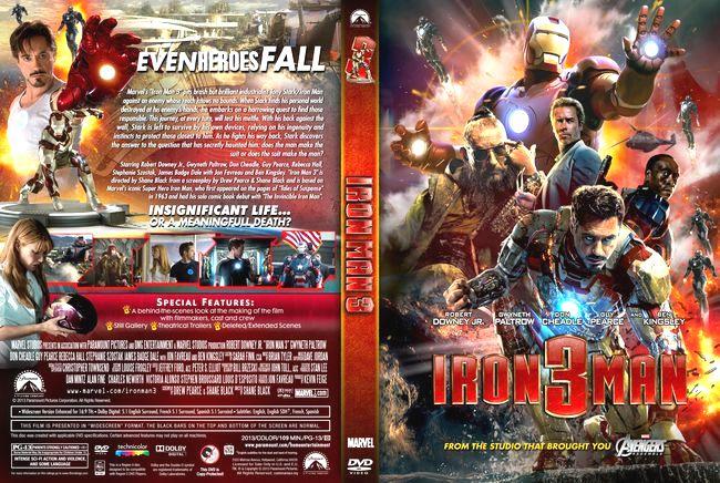 Iron Man 3 (Ironman 3) – Latino