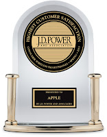 Apple wins again JD Power and Associates Award for Best Products