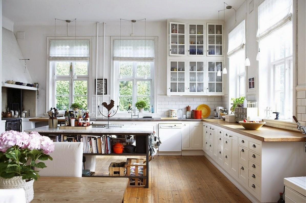 Beautiful Scandanavian Kitchen Decorating Ideas