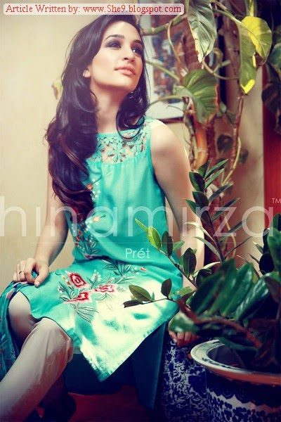 Designer Hina Mirza Formal Winter Dresses
