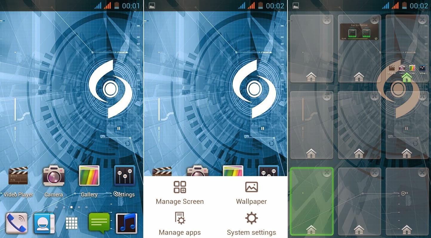 SKK Mobile Glimpse Homescreen