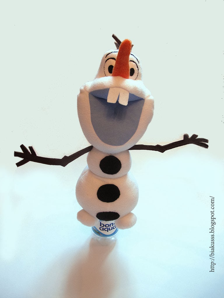 Олаф снеговик игрушка своими руками 94