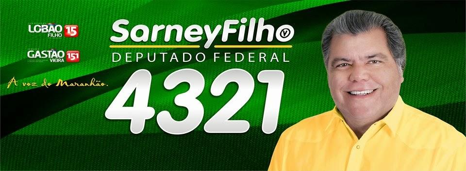 Sarney Filho é Federal