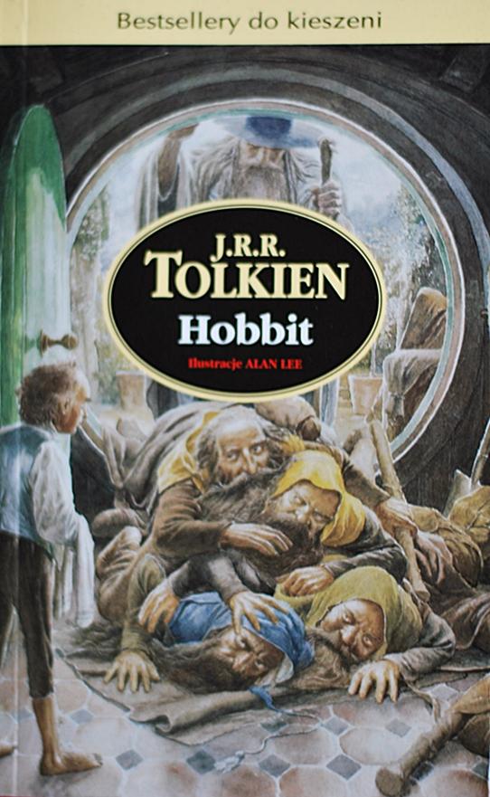 """J. R. R. Tolkien """"Hobbit albo tam i z powrotem"""""""