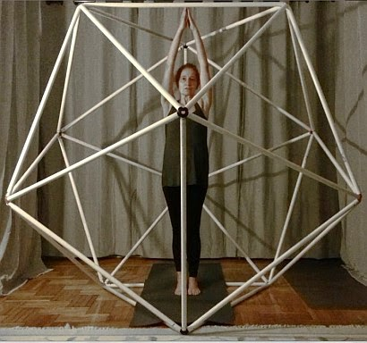 An Icosahedron Made Of 3D Printed Joints And PVC Pipes Has Been Installed In My Studio On February 2015 Become Part Daily Practice