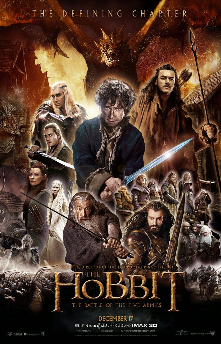The Hobbit: The Battle of the Five Armies (2014) [DvdRip] [Subtitulado]