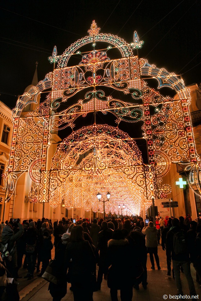 никольская улица новый год