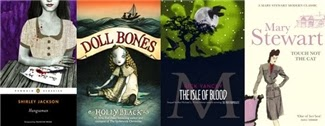 Covers of the books listed below