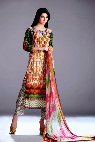 Gohar Textile - An-Nisa Eid Collection 2014