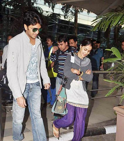 Genelia And Ritesh At ...