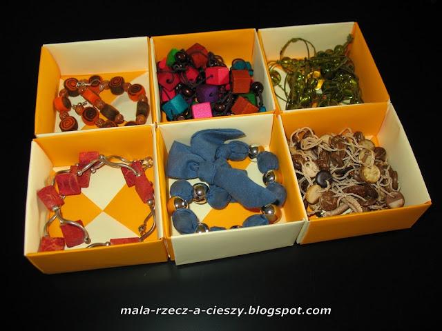 Jak zrobić papierowe pudełko origami krok po kroku + filmik (video tutorial) oraz pudełkowy organizer na biżuterię