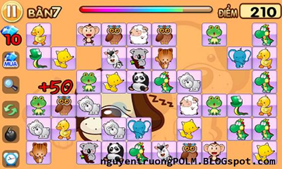 Hình ảnh Game trúc xanh - pikachu