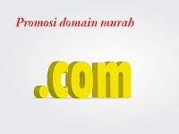 Domain dot com dan dot net lagi promo, hanya 99 ribu