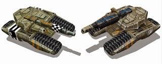 Command & Conquer Papercraft Predator Tank
