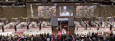 The Bocuse d'Or Chef's Competition is considered the Olympics of the Culinary world