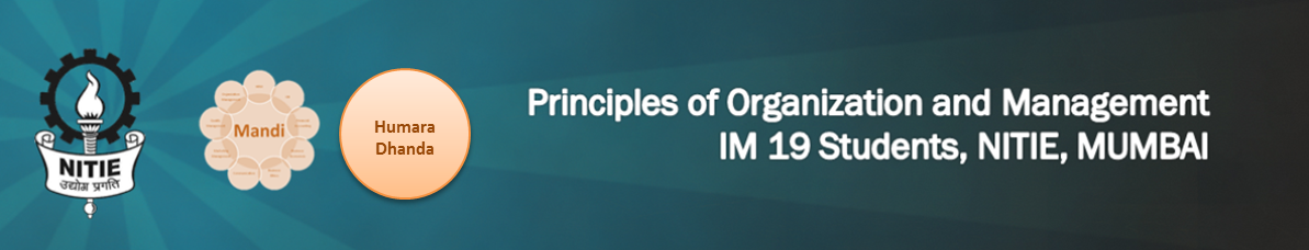 Principles of Organisation and Management Course 2012