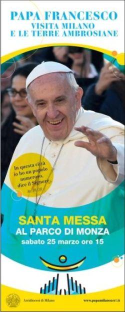 25 marzo 2017 - la visita del Papa