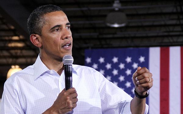 essay on obama for president