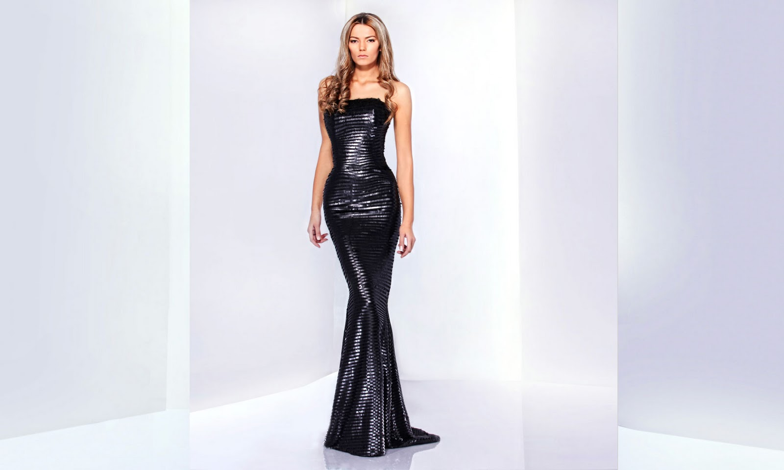 dream wedding place mermaid black bridal dress
