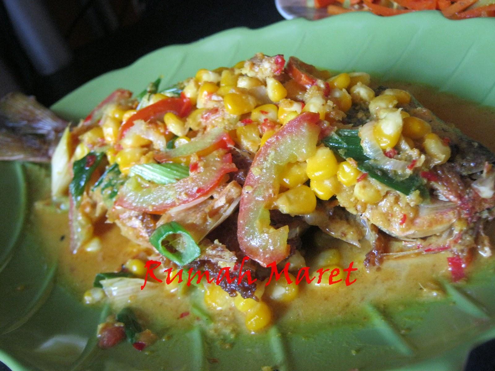 Resep Masak Sehari-hari: Resep Ikan Ekor Kuning Acar Jagung